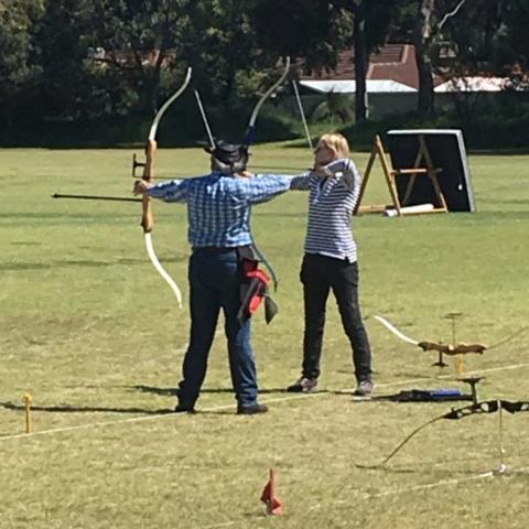 recurve archers